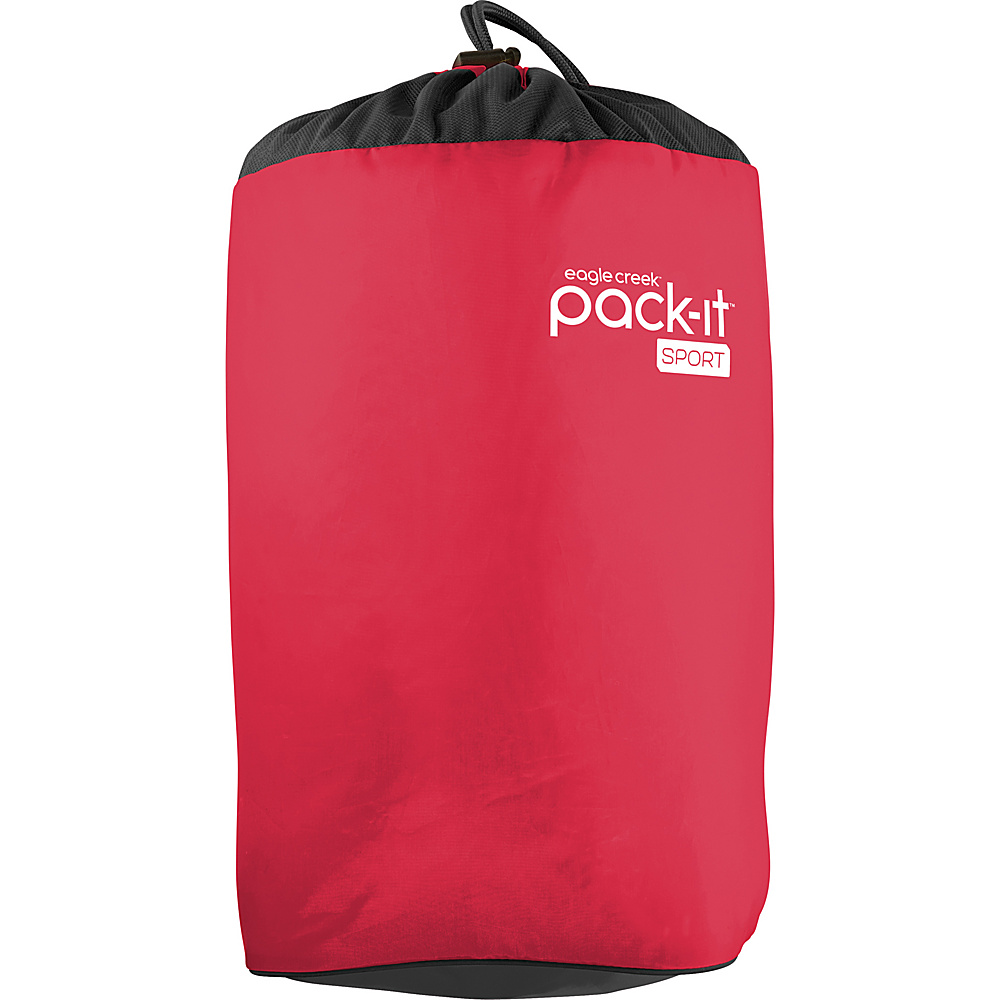 Eagle Creek Pack-It Sport Laundry Stuffer Fuchsia/Black - Eagle Creek Packing Aids - Travel Accessories, Packing Aids
