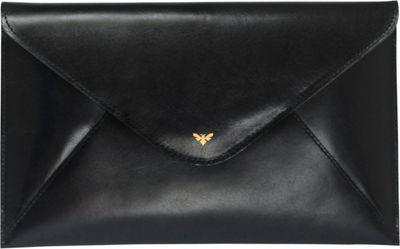 Ebby Rane The 1887 Clutch Onyx - Ebby Rane Leather Handbags