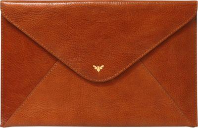 Ebby Rane The 1887 Clutch Cognac - Ebby Rane Leather Handbags