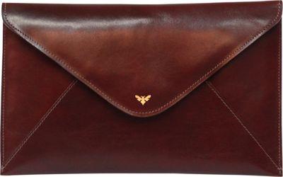 Ebby Rane The 1887 Clutch Bordeaux - Ebby Rane Leather Handbags