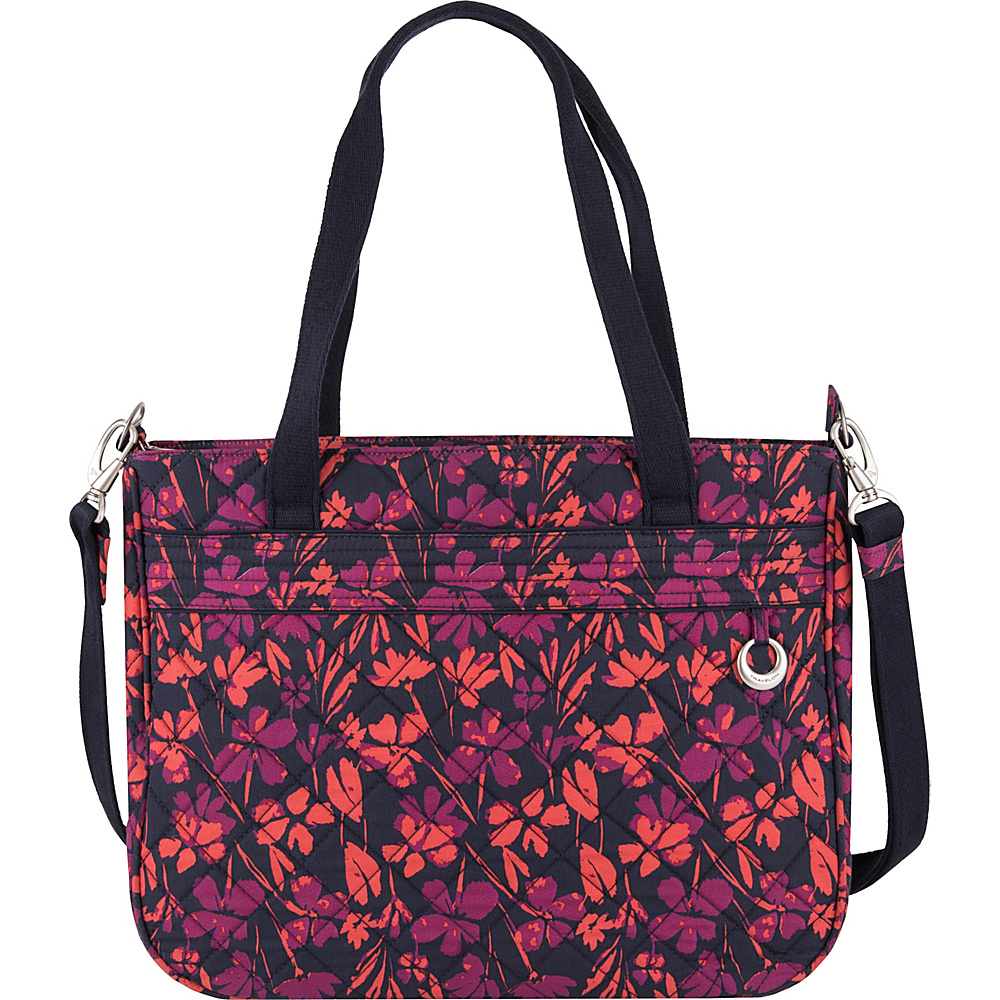 Travelon Anti-Theft Boho Tote Painted Floral - Travelon Fabric Handbags - Handbags, Fabric Handbags