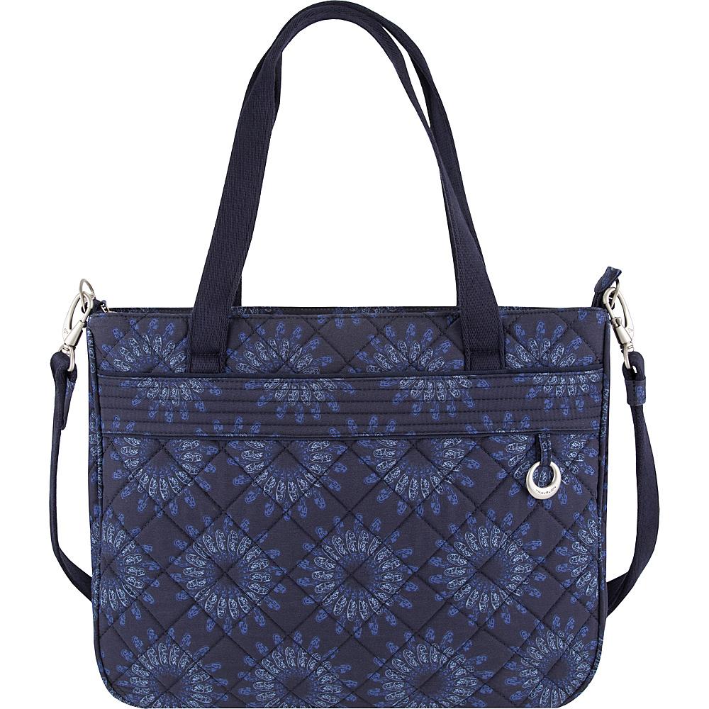 Travelon Anti-Theft Boho Tote Geo Sunflower - Travelon Fabric Handbags - Handbags, Fabric Handbags