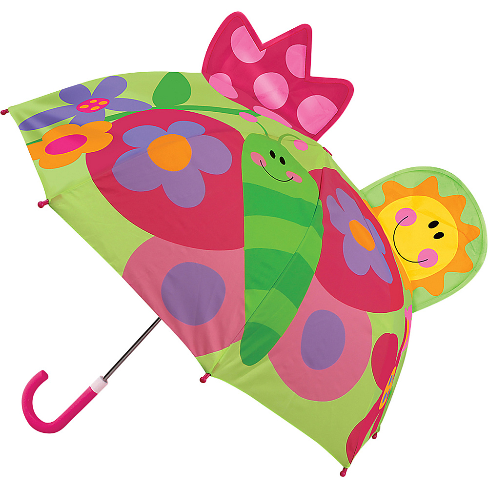 Stephen Joseph Kids Pop Up Umbrella Butterfly - Stephen Joseph Umbrellas and Rain Gear - Travel Accessories, Umbrellas and Rain Gear