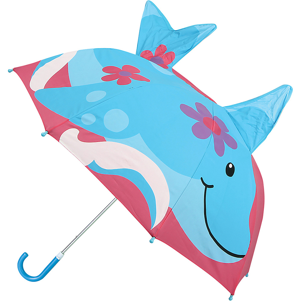 Stephen Joseph Kids Pop Up Umbrella Dolphin - Stephen Joseph Umbrellas and Rain Gear - Travel Accessories, Umbrellas and Rain Gear