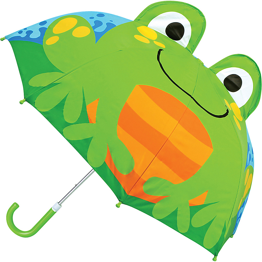 Stephen Joseph Kids Pop Up Umbrella Frog - Stephen Joseph Umbrellas and Rain Gear - Travel Accessories, Umbrellas and Rain Gear