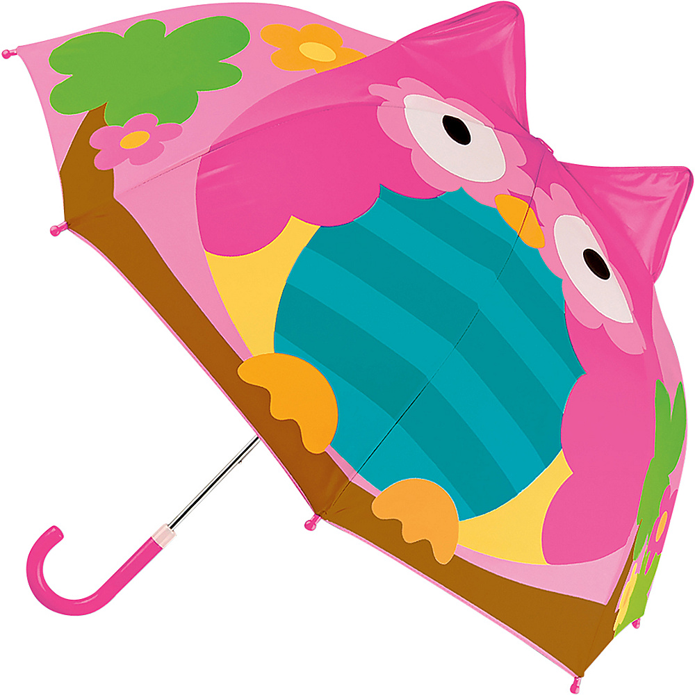 Stephen Joseph Kids Pop Up Umbrella Owl - Stephen Joseph Umbrellas and Rain Gear - Travel Accessories, Umbrellas and Rain Gear