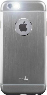 MOSHI iGlaze Armour iPhone 6 Phone Case Gray - MOSHI Electronic Cases
