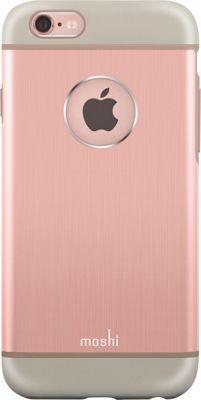 MOSHI iGlaze Armour iPhone 6 Phone Case Rose Gold - MOSHI Electronic Cases