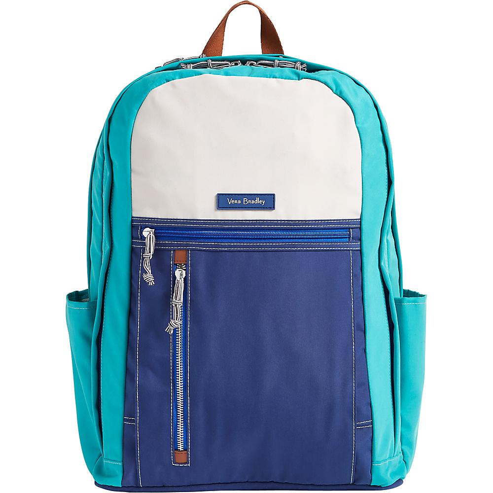 Vera Bradley Lighten Up Grande Backpack - Colorblock Cool Lagoon - Vera Bradley School & Day Hiking Backpacks - Backpacks, School & Day Hiking Backpacks