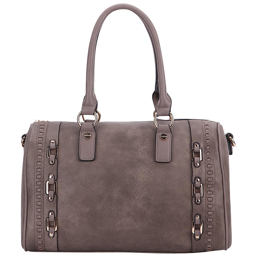 MKF Collection by Mia K. Farrow Perla Satchel Khaki - MKF Collection by Mia K. Farrow Manmade Handbags - Handbags, Manmade Handbags