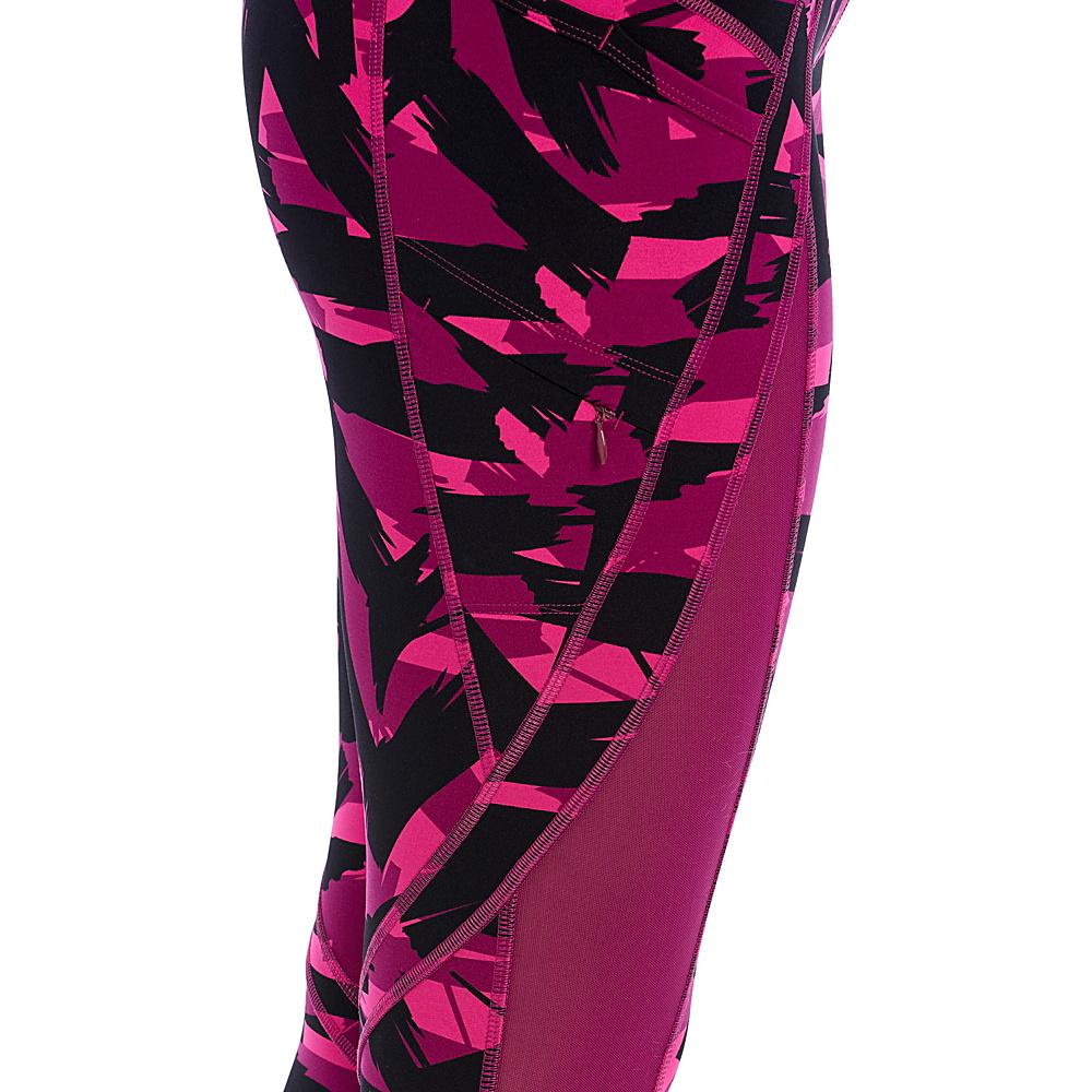 Lole Burst Ankle Leggings XS - Plum Caspia Expression - Lole Womens Apparel - Apparel & Footwear, Women's Apparel