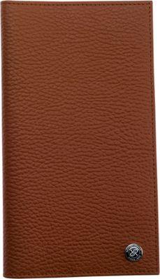 Rapport London Berkeley Leather Travel Wallet Tan - Rapport London Men's Wallets