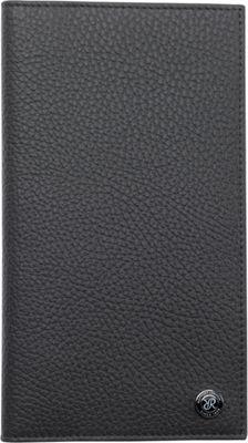 Rapport London Berkeley Leather Travel Wallet Grey - Rapport London Men's Wallets