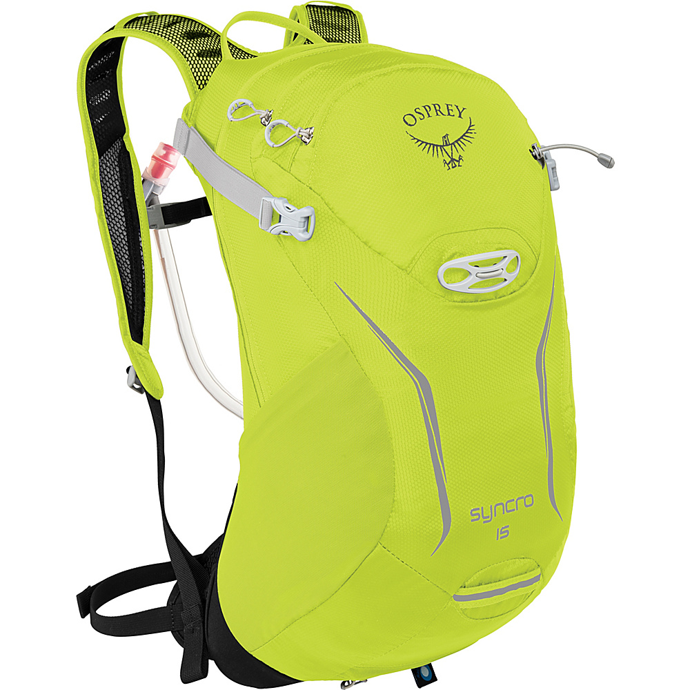 Osprey Syncro 15 Hydration Pack Velocity Green - S/M - Osprey Hydration Packs - Backpacks, Hydration Packs