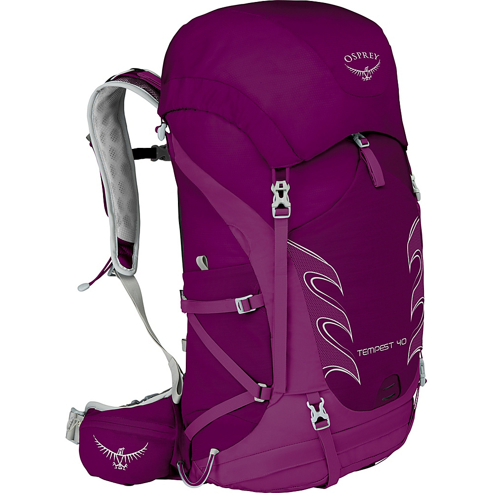 Osprey Womens Tempest 40 Hiking Pack Mystic Magenta – WS/M - Osprey Day Hiking Backpacks - Outdoor, Day Hiking Backpacks