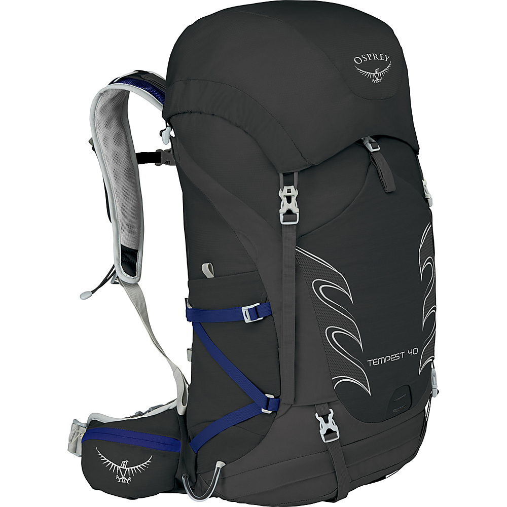 Osprey Womens Tempest 40 Hiking Pack Black – WXS/S - Osprey Day Hiking Backpacks - Outdoor, Day Hiking Backpacks