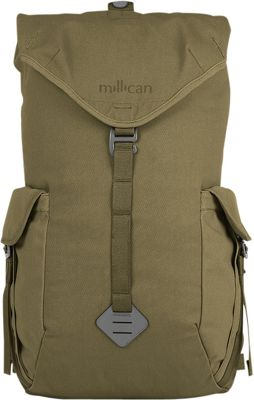 Millican Fraser Rucksack 25L Moss - Millican Laptop Backpacks