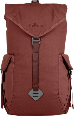 Millican Millican Fraser Rucksack 25L Rust - Millican Laptop Backpacks