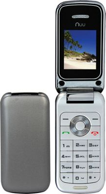 Yapper 1.77 inch F1 64MB Flip Phone with Yapper Mobile World SIM Silver - Yapper Portable Entertainment