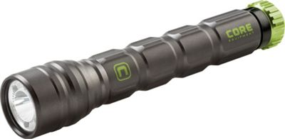 Core Equipment 275L Multi-Color LED Flashlight with Pocket Clip Grey - Core Equipment Outdoor Accessories