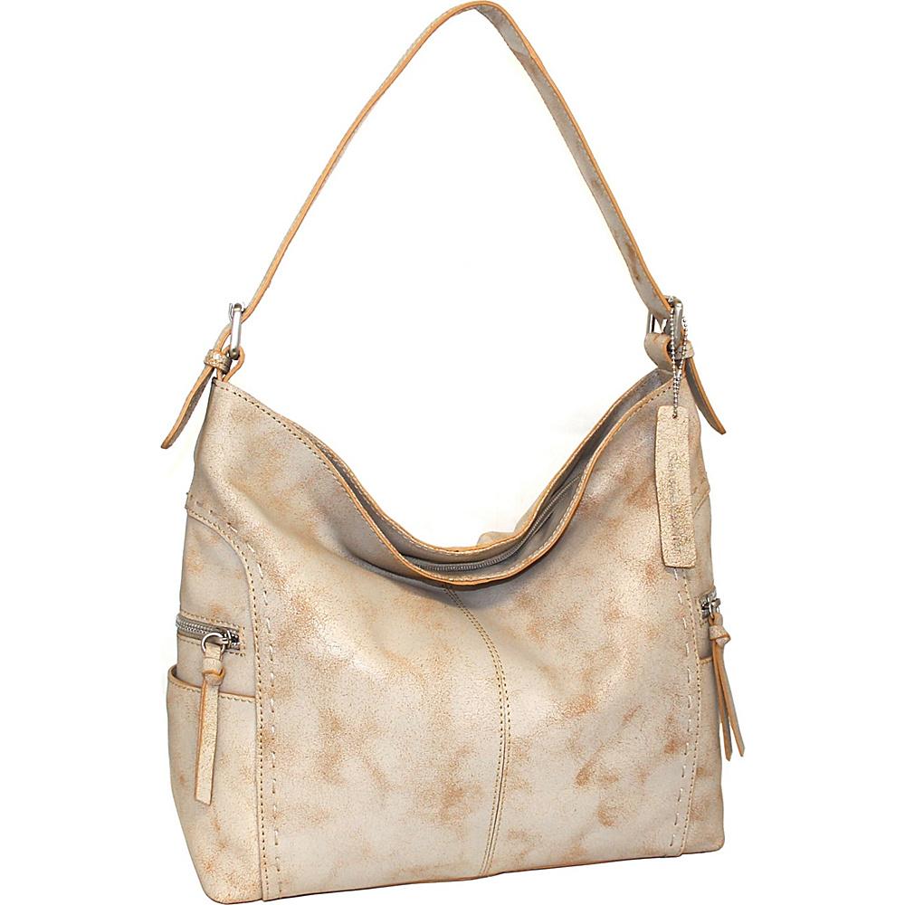 Nino Bossi Beatrice Shoulder Bag White - Nino Bossi Leather Handbags - Handbags, Leather Handbags