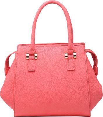 SW Global Cyan Satchel Red - SW Global Manmade Handbags
