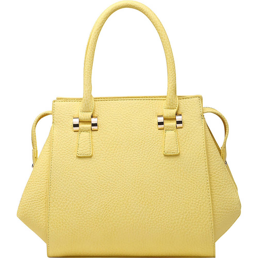 SW Global Cyan Satchel Yellow - SW Global Manmade Handbags - Handbags, Manmade Handbags