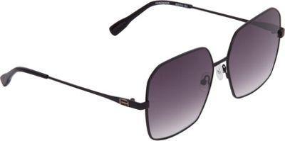 Elie Tahari Sunglasses Geometric Shaped with Flat Lenses Sunglasses Black - Elie Tahari Sunglasses Eyewear