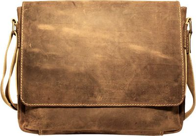 Jack Georges Arizona Full-Size Messenger Bag Brown - Jack Georges Messenger Bags