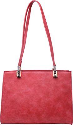 SW Global Whitey Shoulder Bag Red - SW Global Manmade Handbags