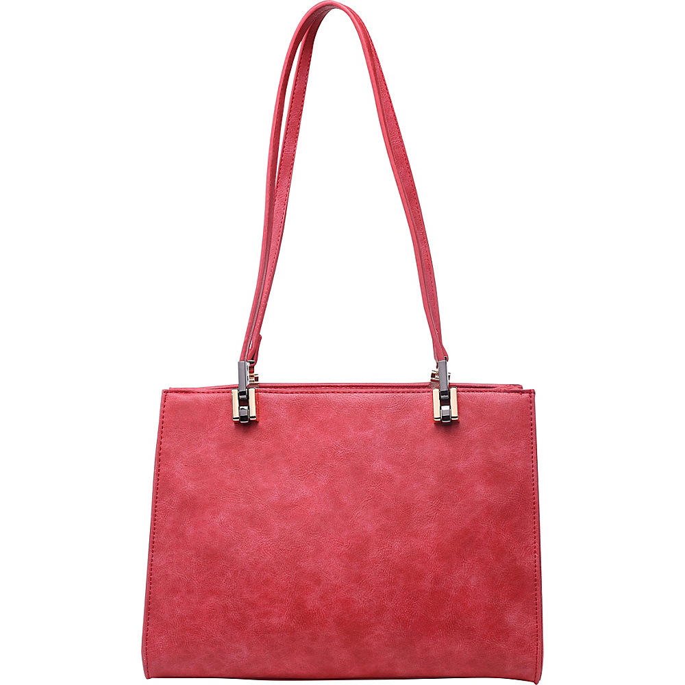 SW Global Whitey Shoulder Bag Red - SW Global Manmade Handbags - Handbags, Manmade Handbags