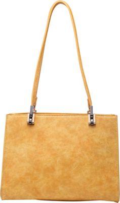 SW Global Whitey Shoulder Bag Yellow - SW Global Manmade Handbags