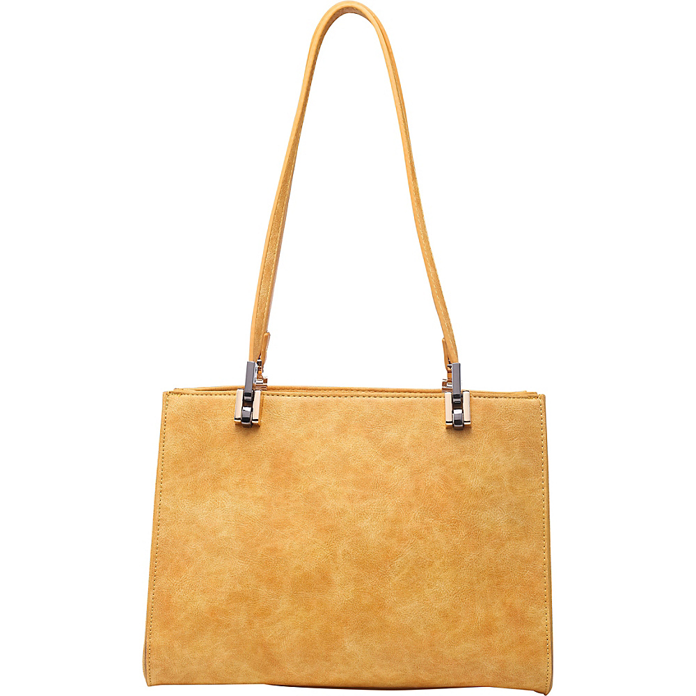 SW Global Whitey Shoulder Bag Yellow - SW Global Manmade Handbags - Handbags, Manmade Handbags