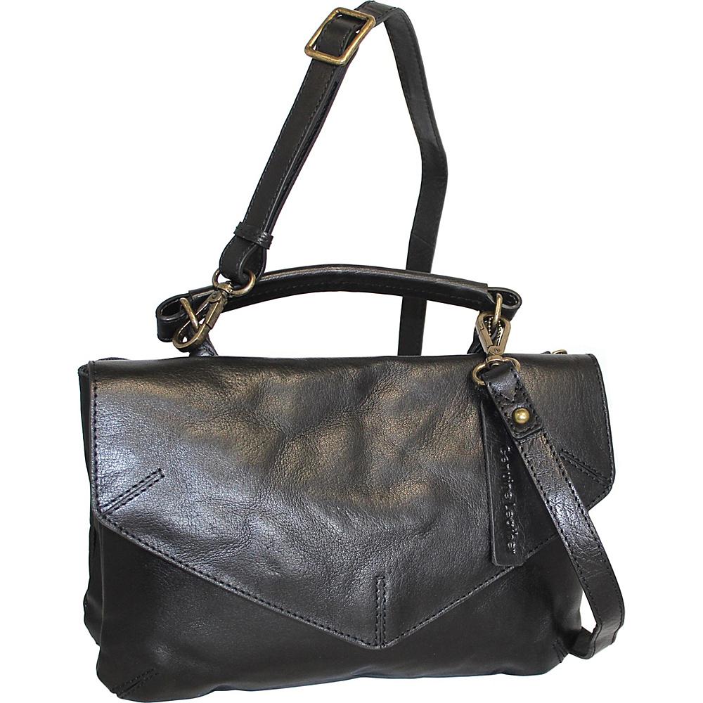 Nino Bossi Venus Leather Crossbody Black - Nino Bossi Leather Handbags - Handbags, Leather Handbags