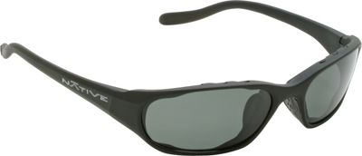 Native Eyewear Throttle Sunglasses Matte Black with Polarized Gray - Native Eyewear Eyewear
