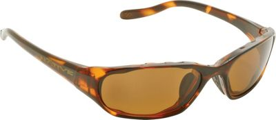 Native Eyewear Throttle Sunglasses Maple Tort with Polarized Brown - Native Eyewear Eyewear