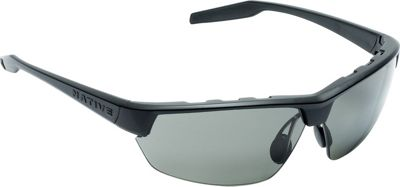 Native Eyewear Hardtop Ultra Sunglasses Matte Black with Polarized Gray - Native Eyewear Eyewear