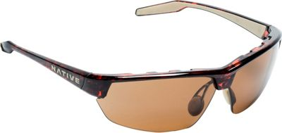 Native Eyewear Hardtop Ultra Sunglasses Maple Tort with Polarized Brown - Native Eyewear Eyewear