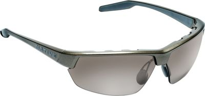 Native Eyewear Hardtop Ultra Sunglasses Gunmetal with Polarized Silver Reflex - Native Eyewear Eyewear