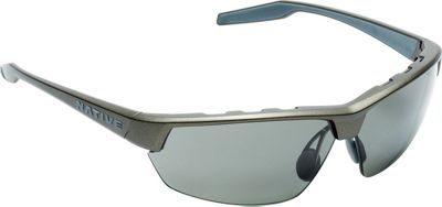 Native Eyewear Hardtop Ultra Sunglasses Charcoal with Polarized Gray - Native Eyewear Eyewear