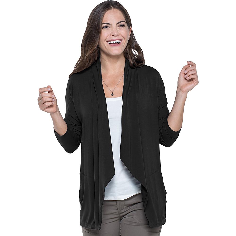 Toad & Co Wisper Cardie XL - Black - Toad & Co Womens Apparel - Apparel & Footwear, Women's Apparel