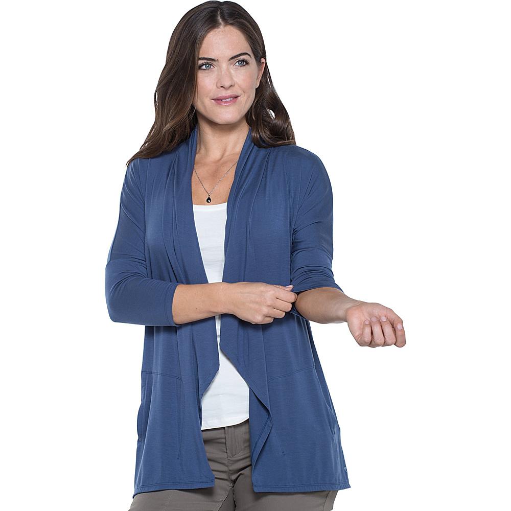 Toad & Co Wisper Cardie XL - Indigo - Toad & Co Womens Apparel - Apparel & Footwear, Women's Apparel