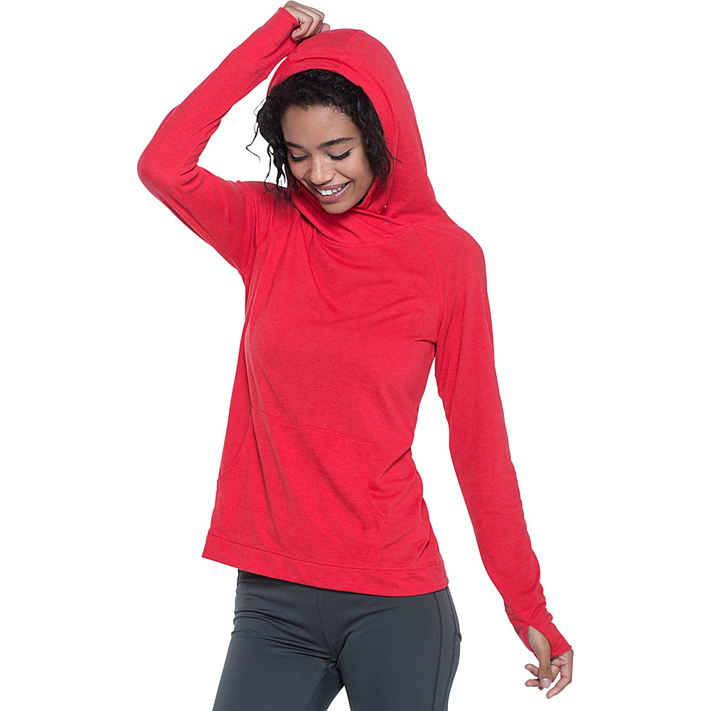 Toad & Co Debug Sport Hoodie XL - Parakeet Red - Toad & Co Womens Apparel - Apparel & Footwear, Women's Apparel