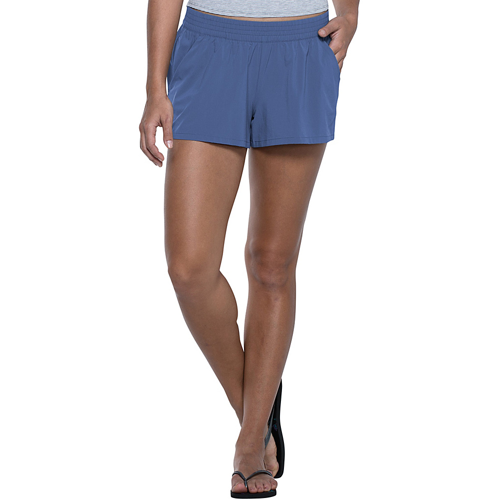Toad & Co Sunkissed Pull On Short XS - Indigo - Toad & Co Womens Apparel - Apparel & Footwear, Women's Apparel