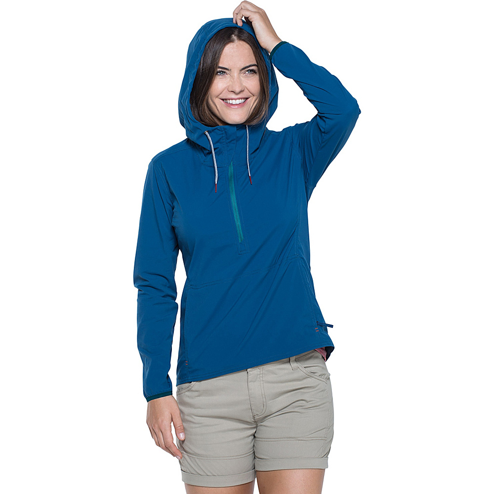 Toad & Co Spindrift Anorak M - Blue Abyss - Toad & Co Womens Apparel - Apparel & Footwear, Women's Apparel