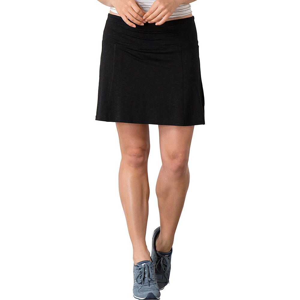 Toad & Co Sereena Samba Skort XL - Black - Toad & Co Womens Apparel - Apparel & Footwear, Women's Apparel