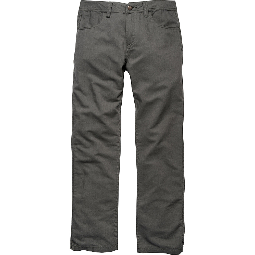 Toad & Co Kerouac Pant 36 - 32in - Dark Graphite - Toad & Co Mens Apparel - Apparel & Footwear, Men's Apparel