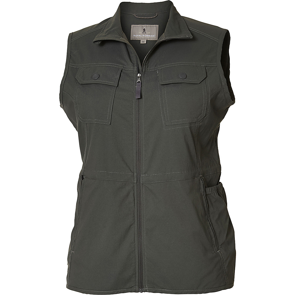 Royal Robbins Womens Jammer Vest L - Obsidian - Royal Robbins Womens Apparel - Apparel & Footwear, Women's Apparel