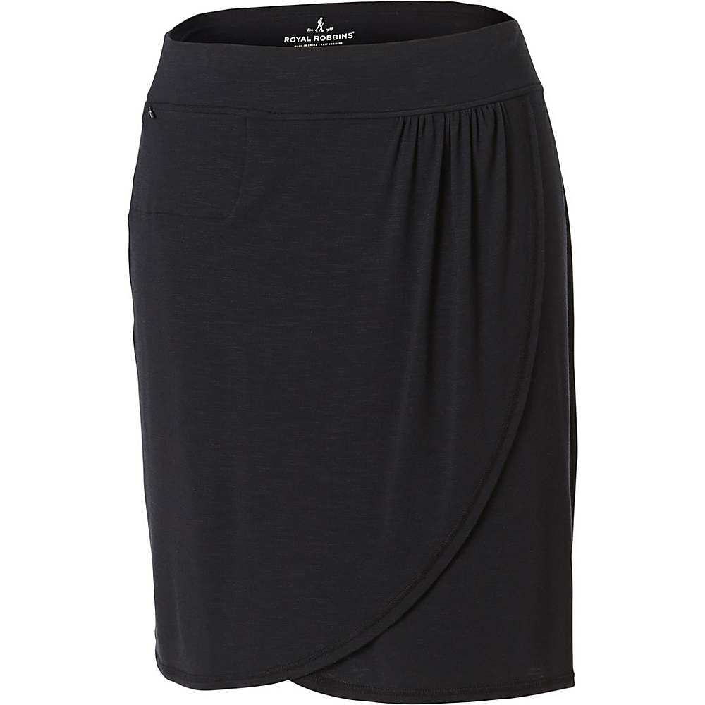 Royal Robbins Womens Noe Skirt XL - Jet Black - Royal Robbins Womens Apparel - Apparel & Footwear, Women's Apparel