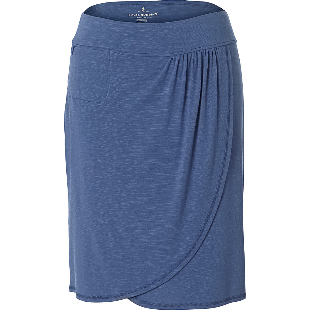 Royal Robbins Womens Noe Skirt XL - Blue Sea - Royal Robbins Womens Apparel - Apparel & Footwear, Women's Apparel